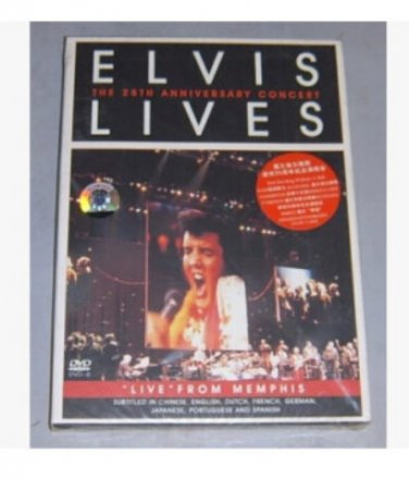 "Elvis Presley The 25th Anniversary Concert  ""Live"" from Memphis Genuine DVD ISBN:9787885865474"