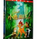 Disney Movie: Bambi II  (Chinese-English Edition) 2DVD ISBN:9787799134949