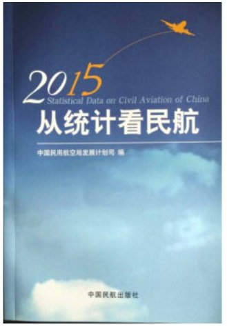From a statistical look at the Civil Aviation  2015 ISBN:9787512803220