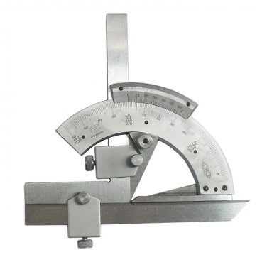 320 Degrees Universal Bevel Protractor Angles Dial