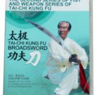 Taichi Kungfu Broadsword  DVD (English Subtitled)