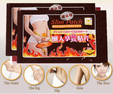 Herbal Slimming Patch   (Lot of 20 Pcs)