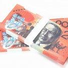 Lot of 100 Pieces  Banktells' AU$ 20 Training Australia Banknotes Paper Money UNC