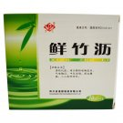 Fresh bamboo sap for cough with lung heat stroke with stiff tongue