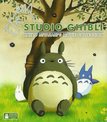 DVD Studio Ghibli 10 Movies + Bonus Boxset Hayao Miyazaki ( ALL English Audio) New FREE Shipping