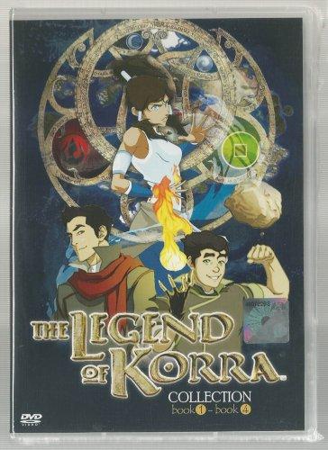 DVD Avatar Legend of Korra Book 1+2+3+4 (TV 1-52 end) ENGLISH Version Animation FREE Shipping