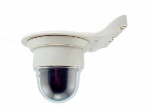 Dome Dummy Camera w/ LED light: Wall or Ceiling Mounted DDCLWC
