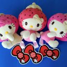 CHOOSE 1 AUTHENTIC BRAND NEW 15cm Sanrio Eikoh Strawberry Hello Kitty plush soft toy doll