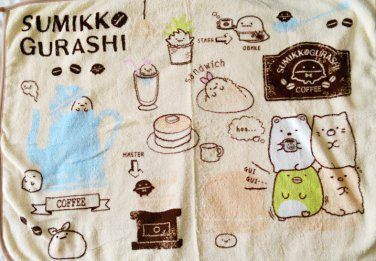 Brand New Authentic 60x80cm Sumikko Gurashi 2015 Lucky Dip Prize Towel Blanket B