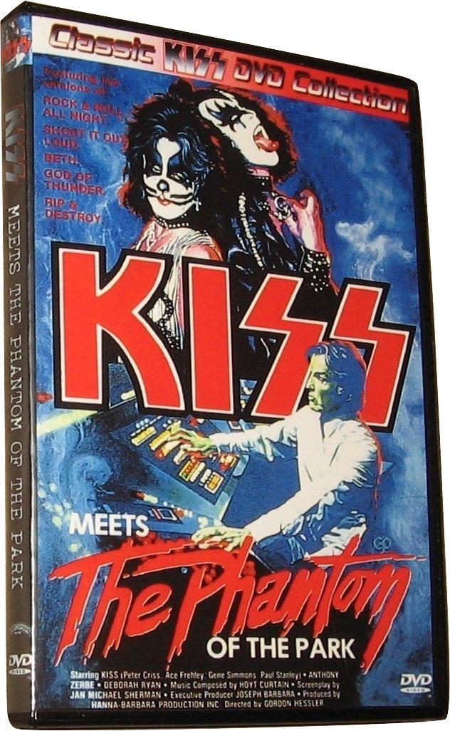 KISS Meets the Phantom of the Park DVD (1978)