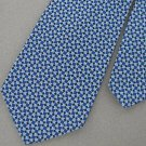 Vintage Conte Gino Fat Texture 60's 70s Checkered Blue Black Mens Neck Tie #EV