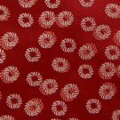 #1A New MURANO RED WHITE CIRCLES WOVEN NECK TIE