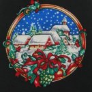 #1A New HOLIDAYS Christmas Santa Snow Holiday TOYS BLACK RED TAN  Necktie Tie
