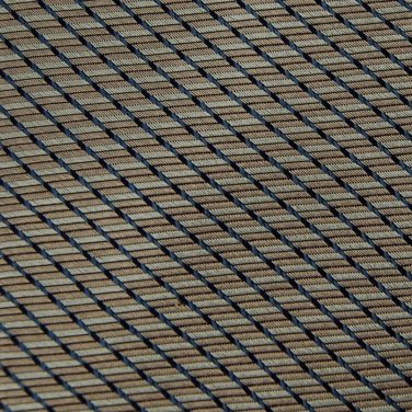 RBM COLLECTION WOVEN YELLOW BLUE SILK MEN NECK TIE Men Designer Tie EUC