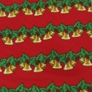 #1A New KEITH DANIELS Christmas Holiday Ornament Bell RED GREEN  MENS Necktie