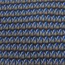 TESORO ROSSO GRAY BLUE BLACK GEOMETRIC Men Designer Tie EUC