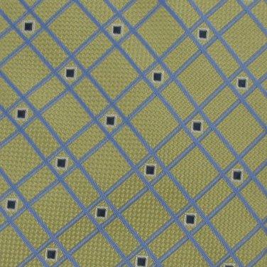 New Tango Collections Woven Yellow Gold Silk Neck Tie Men Designer Tie EUC