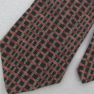 #1A Van Heusen Black Stripe Black Brown Stripe Mens Neck Tie # 1A