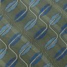 #1A New BILL BLASS ForestGreen BLUE WAVES MEN NECK TIE MENS