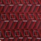 #1A MURANO RED WHITE BLACK ART DECO SILK Men Neck Tie Krawatte Cravatta