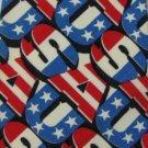 Vintage Jon USA Cotton WideTexture 60s Men Neck Tie Necktie 7755 #EV