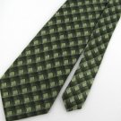 New ARROW STRIPE SQUARE GREEN BLACK SKY-BLUE SILK Neck Tie Men Designer Tie EUC