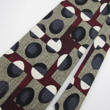 Evan Picone Designer Silk MEN Neck Tie Men Designer Tie EUC