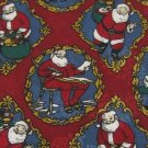 #1A NEW THINKING OF YOU Christmas Santa Holiday TOYS RED GOLD WHITE Necktie Tie