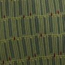 #1A New J FERRAR OLIVE GREEN YELLOW LINES SILK MEN NECK TIE Cravat Krawatte