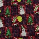 #1A NWT CAPE COD USA CHRISTMAS SANTA SNOW MAN RED NAVY  MEN Neck Tie NECKTIE