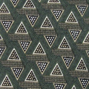 #1A Guess Made in USA Olive Grn Tricone Designer Silk MEN Neck Tie NECKTIE New