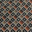 #1A New Platinum Designs Woven Square Tan Brown Silver  MEN Neck Tie NECKTIE