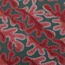 CLAIBORNE LEAVES GREEN RED PINK WHITE SILK MEN NECK TIE Men Designer Tie EUC
