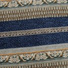 PIERRE CARDIN STRIPE BLUE GOLD GREEN WHITE Men Designer Tie EUC