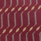 MURANO MAROON GRAY KHAKI WAVE PATTERN MEN NECK TIE Men Designer Tie EUC