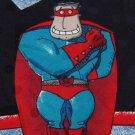 CELERATION SUPER GUY HALLMARK CARDS SILK TIE NECK TIE Men Designer Tie EUC