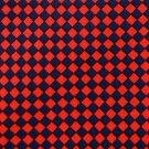 HUNTINGTON CHECKERED BLACK RED SILK MEN NECK TIE Men Designer Tie EUC