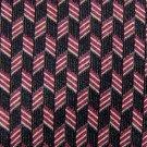 "59"" Long GUESS BLACK MAROON BEIGE SILK TIE NECK TIE Men Designer Tie EUC"