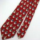 New Christmas Santa Snow Holiday Reindeer Tree Ornament Boys Neck Tie 7631