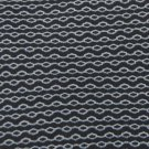 KENNETH COLE STRIPE BLACK GREY SILK Men Neck Tie Men Designer Tie EUC