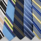 Vtg 5 Damon Sear Wembley Johnny Carson Stripe Fat Mens Texture 70s Neck Tie Lot