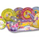 Summer Bugs Tin Tea Set by Schylling