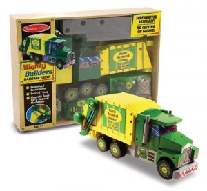 Melissa and Doug 4090 Mighty Builder Garbage Truck