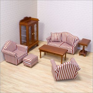 Melissa and Doug - Dollhouse Living Room Furniture