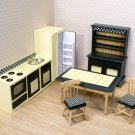 Melissa & Doug Toys - Dollhouse Kitchen Furniture Set