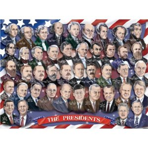 Presidents of the USA 100pc Floor Puzzle
