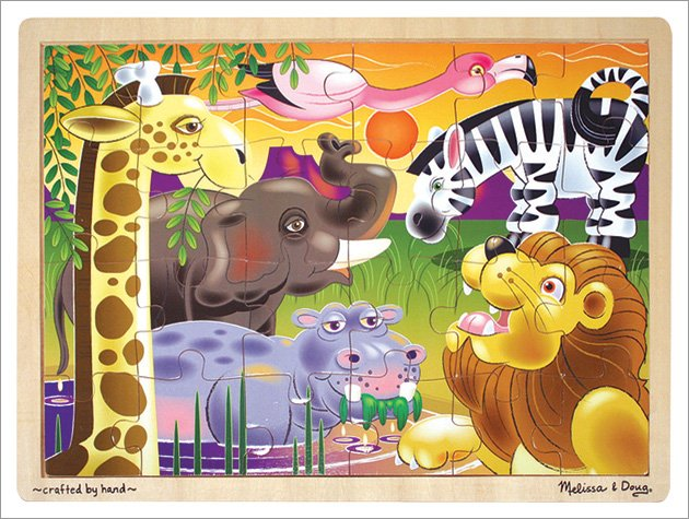 Melissa and Doug - African Plains Wooden Jigsaw Puzzle
