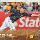 Jordy Mercer 2015 Topps #269 Pittsburgh Pirates Baseball Card
