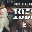 Enos Slaughter 2015 Topps 'Highlight of the Year' H-9 St. Louis Cardinals Baseball Card