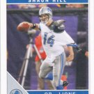 Shaun Hill 2011 Score #101 Detroit Lions Football Card